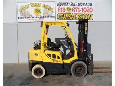 6000LB Forklift, Pneumatic Tires, 3 Stage, Side Shift, 4th Valve, Propane