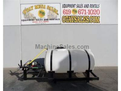 500 Gallon Water Tank, Skid Mounted, 4hp Honda Engine, 2 Inch Hose Port