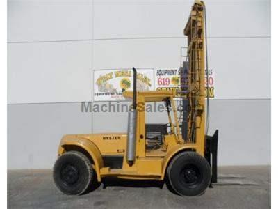 20000LB Forklift, Pneumatic Tires, 255 Inch Lift, Side Shift, Diesel