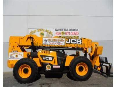 12000LB Telehandler Reach Truck, 56 Foot Reach Height, Body Tilt, 4 Wheel Drive