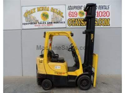 6000LB Forklift, Cushion Tires, Propane, Side Shift, Automatic Transmission