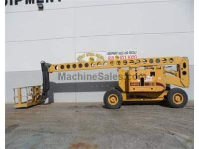 Boomlift, 86 Foot Working Height, 80 Foot Basket Height, Diesel, 4x4, 4 Way Steer, Genset