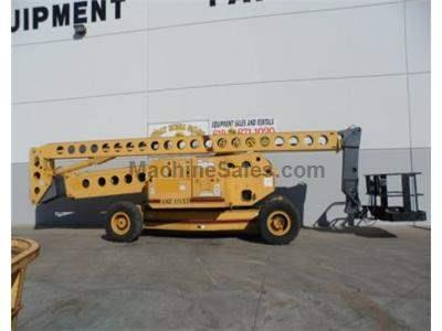 Boomlift, 131 Foot Working Height, 125 Foot Platform Height, Dual Fuel, 4x4, Expandable Axle