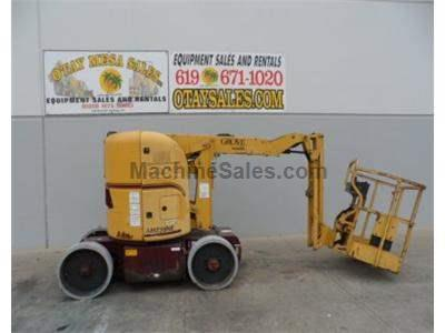 Boomlift, Electric, Articulated, 39 Foot Working Height, 33 Foot Platform, 48 Volt
