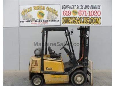 5000LB Forklift, Pneumatic Tires, 3 Stage, Side Shift, Propane