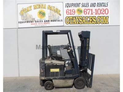 3500LB Forklift, Electric, 48 Volt, 3 Stage, Side Shift, Warrantied Battery, Includes Charger