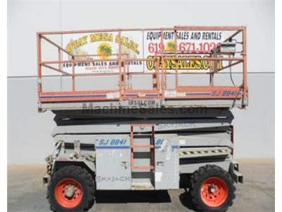 Scissor Lift, Rough Terrain, 47 Foot Working Height, 41 Foot Platform Height, Dual Fuel