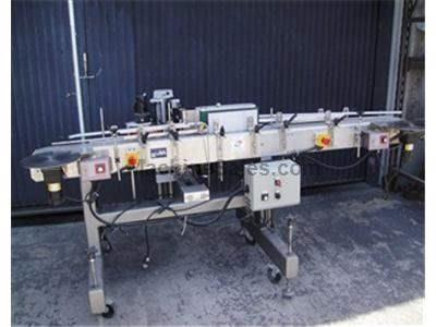 Modular Packaging Quadrel Q-10 Wrap-around Labeler