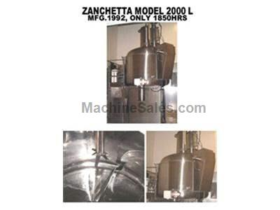 ZANCHETTA 2000 LITER HIGH SHEAR MIXER
