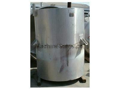 500 GAL. LEE JACKETED KETTLE