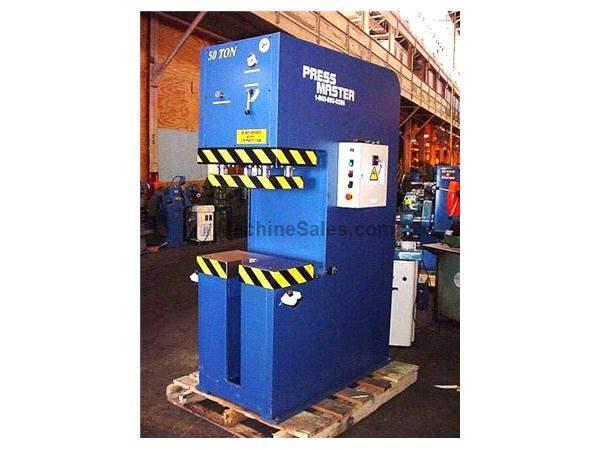 "50 Ton 12"" Stroke Pressmaster CFP-50 HYDRAULIC PRESS"