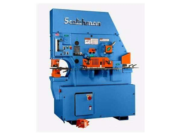 "85 Ton 10"" Throat Scotchman FI 8510-20M *Made in the USA* NEW IRONWORKER, single operator; 5 stations; 5 hp 3 ph 230/460v"
