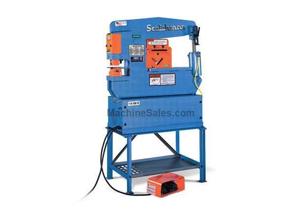 "45 Ton 4"" Throat Scotchman Porta Fab 45 *Made in the USA* NEW IRONWORKER, single operator; 4 stations; 2 hp 1 phase 110v"