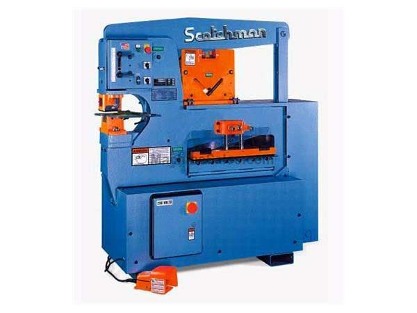 "65 Ton 9"" Throat Scotchman 6509-24M *Made in the USA* NEW IRONWORKER, single operator; 3 stations; 5 hp 3 ph 230/460v"