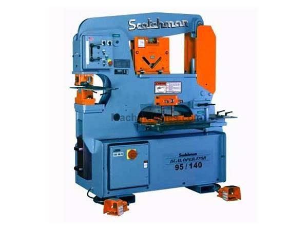 "95 Ton 9"" Throat Scotchman DO 95/140-24M *Made in the USA* NEW IRONWORKER, dual operator; 5 stations; 10 hp 3 ph 230/460v"