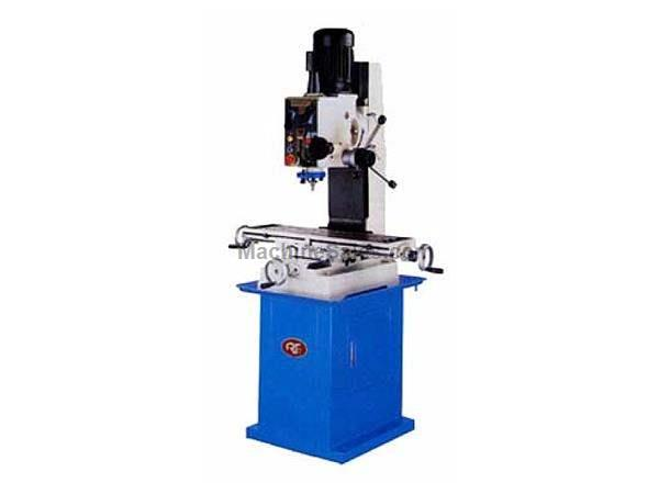 "32"" Table 1HP Spindle Rong Fu RF-45 Geared Head Mill/Drill VERTICAL MILL, 1-1/2hp, 110v 1ph or 220v 3ph"