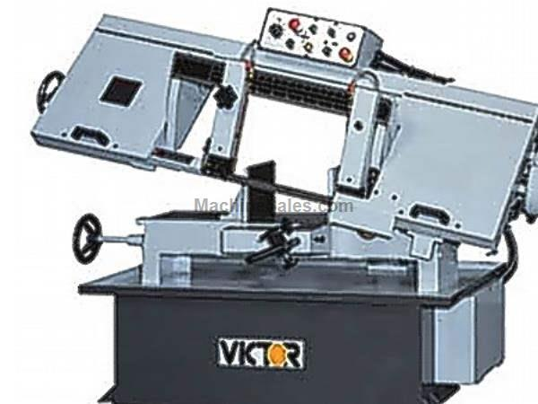 "10"" Width 10"" Height Victor 1018SA Semi-Automatic Horz Bandsaw HORIZONTAL BAND SAW, Semi-Automatic"