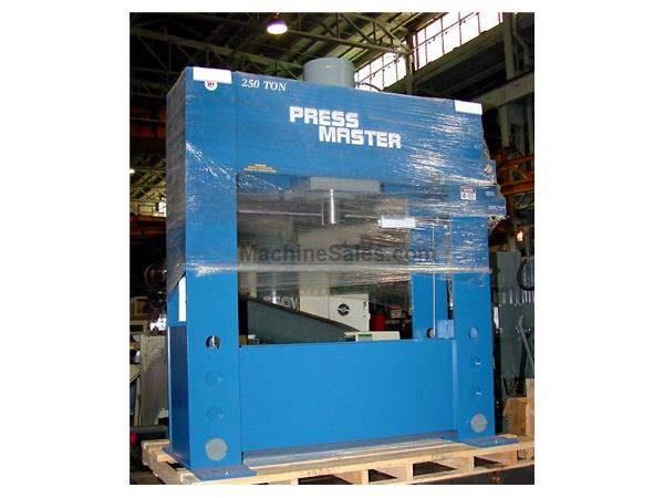 "250 Ton 16"" Stroke Pressmaster HFP-250 H-FRAME HYDRAULIC PRESS, Electric Over Hydraulic"