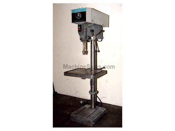 "20"" Swing 1.5HP Spindle Rockwell 70-330 Model 20 DRILL PRESS, VARI SPEED, #3MT, T-SLOTTED TABLE  BASE"