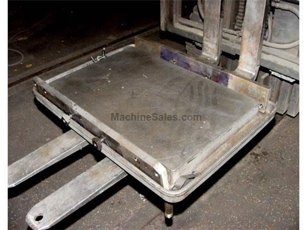 "20"" WIDTH 30"" LENGTH Clausing CAST IRON w/PRECISION GROUND TOP DRILL TABLE, w/COOLANT TROUGH, MOUNTING BRACKETS"