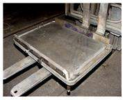 """20"""" WIDTH 30"""" LENGTH Clausing CAST IRON w/PRECISION GROUND TOP DRILL TABLE, w/CO"""