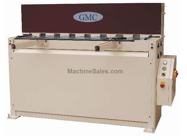 "0.1345"" Cap. 120"" Width GMC HS-1010MD *Taiwan Made* NEW SHEAR, 10' x 10ga.; hydraulic; 26"" manual BG; 7.5 hp"
