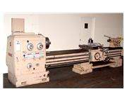 "24"" Swing 120"" Centers Pasquino ENGINE LATHE, Gap Bed, Inch/Metric, Rapid, 3-Jaw"