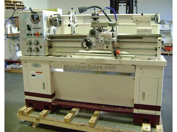 "14"" Swing 40"" Centers GMC GML-1440BGF-1, 220V, 1 Ph, 3 HP ENGINE LATHE, D1-4 w/1-1/2"" bore; hi spd precision engine lathe"