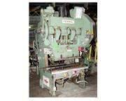 """60 Ton 4"""" Stroke Federal 2-60 OBI PRESS, Air Clutch - Variable Speed, 54"""" x 24&q"""