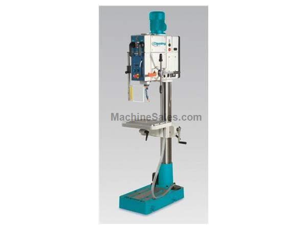 "27.5"" Swing 3HP Spindle Clausing SX40RS DRILL PRESS, 27.5"" GH, Mechanical CL, 4MT, 3HP, Floor Tapping"
