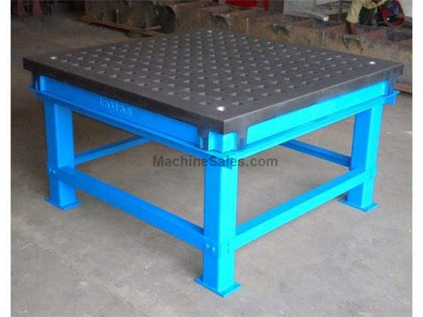 Welding Table For Sale >> Used 5 Length 8 Width Fpm 5 X 8 Welding Table Cast Iron