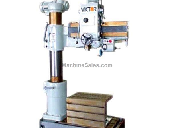 "29.5"" Arm 8.25"" Column Victor 829 RADIAL DRILL, Spindle Stroke 8.25"", 6 speeds, 2 HP"