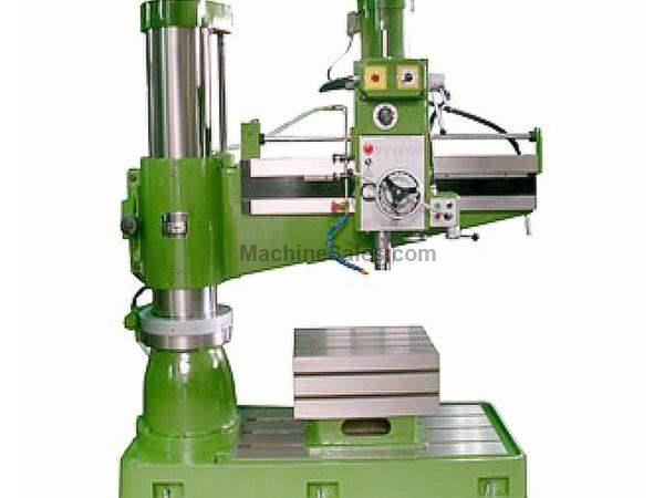"49.21"" Arm 11.81"" Column Victor 1249H RADIAL DRILL, Spindle Stroke 10.63"", 12 speeds, 5 HP"
