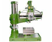"""63"""" Arm 12.6"""" Column Victor 1363H RADIAL DRILL, Spindle Stroke 10.63"""", 12 s"""
