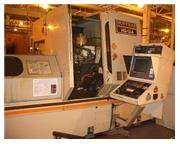 "HUFFMAN MODEL HS134 CNC BROACH SHARPENER 96"" CENTERS 15MA FANUC, 1993"