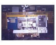 DAEWOO PUMA, NO. 10-2SP, FANUC 16TT, COOLANT SYSTEM, CHIP CONVEYOR
