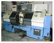 MODEL DUAL TURN 20 MAZAK CNC FLAT BED TURNING CENTER, 1996
