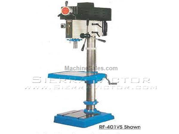"20"" RONG FU® Infinitely Variable Speed Drill Press"