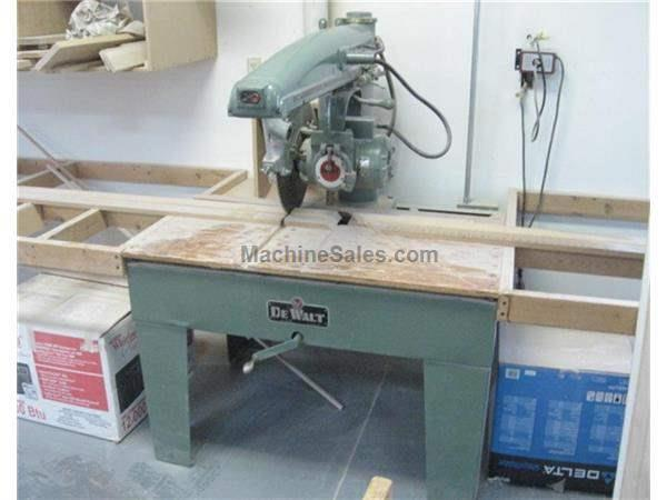 Radial Arm Saws For Sale New Amp Used Machinesales Com
