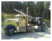 2001 Kenworth W900L Long Log Truck