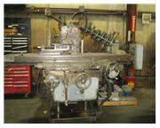 Kearney & Trecker Horizontal Mill, Dual Screw, Driven Rotary Table