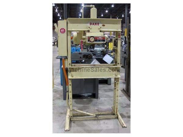 DAKE 5025 H-FRAME HYD PRESS - 25 TON