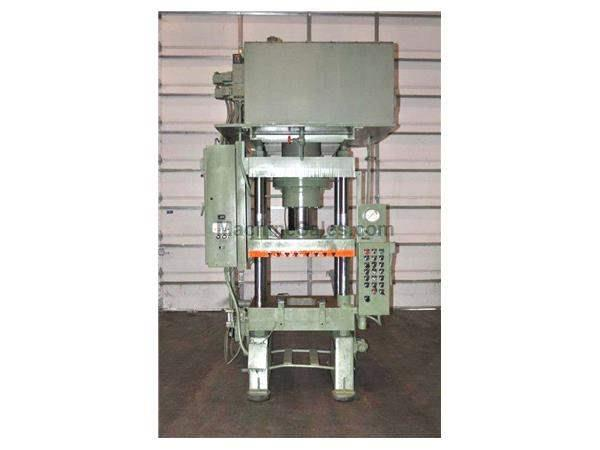 Used Dake 250 Ton 4-Post Hydraulic Press for sale - 68606