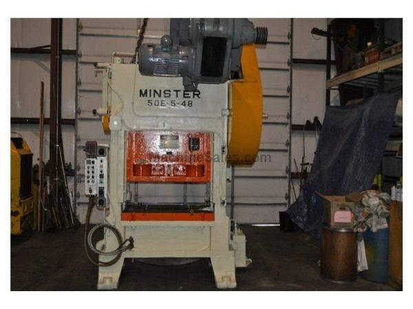 Minster # 50E-5-48, 93 Ton SSDC Press