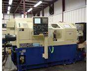 "1 1/2"",Tsugami MU38SY,Fanuc 18iTA,Bar Feed,Twin Turret,50-5K RPM,15 Deg Sub Sp Nevins"