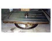 "Rotary table, indexing - 36"" x 60"" Farmington with air lift"