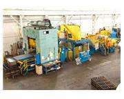 "400 TON WARCO PRESS LINE, BED SIZE 72"" x 96"""