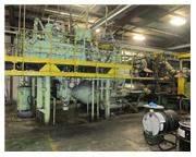 1700 TON LOEWY OIL HYD. COPPER ROD/TUBE EXTRUSION PRESS W/ INTERNAL PIERCER
