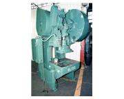 60 TON BLISS MODEL #21-1/2B OPEN BACK INCLINABLE PRESS