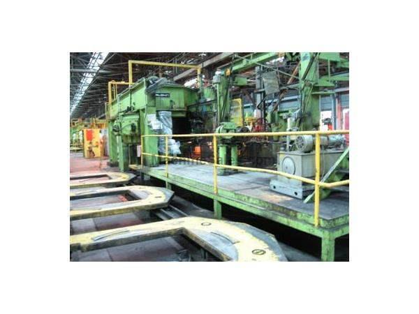 "84"" VAUGHN MODEL 84-24-26 BULLBLOCK DRAWING MACHINE"